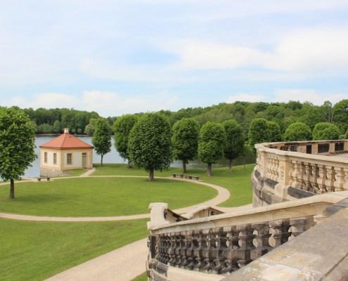Schloß Moritzburg Garten