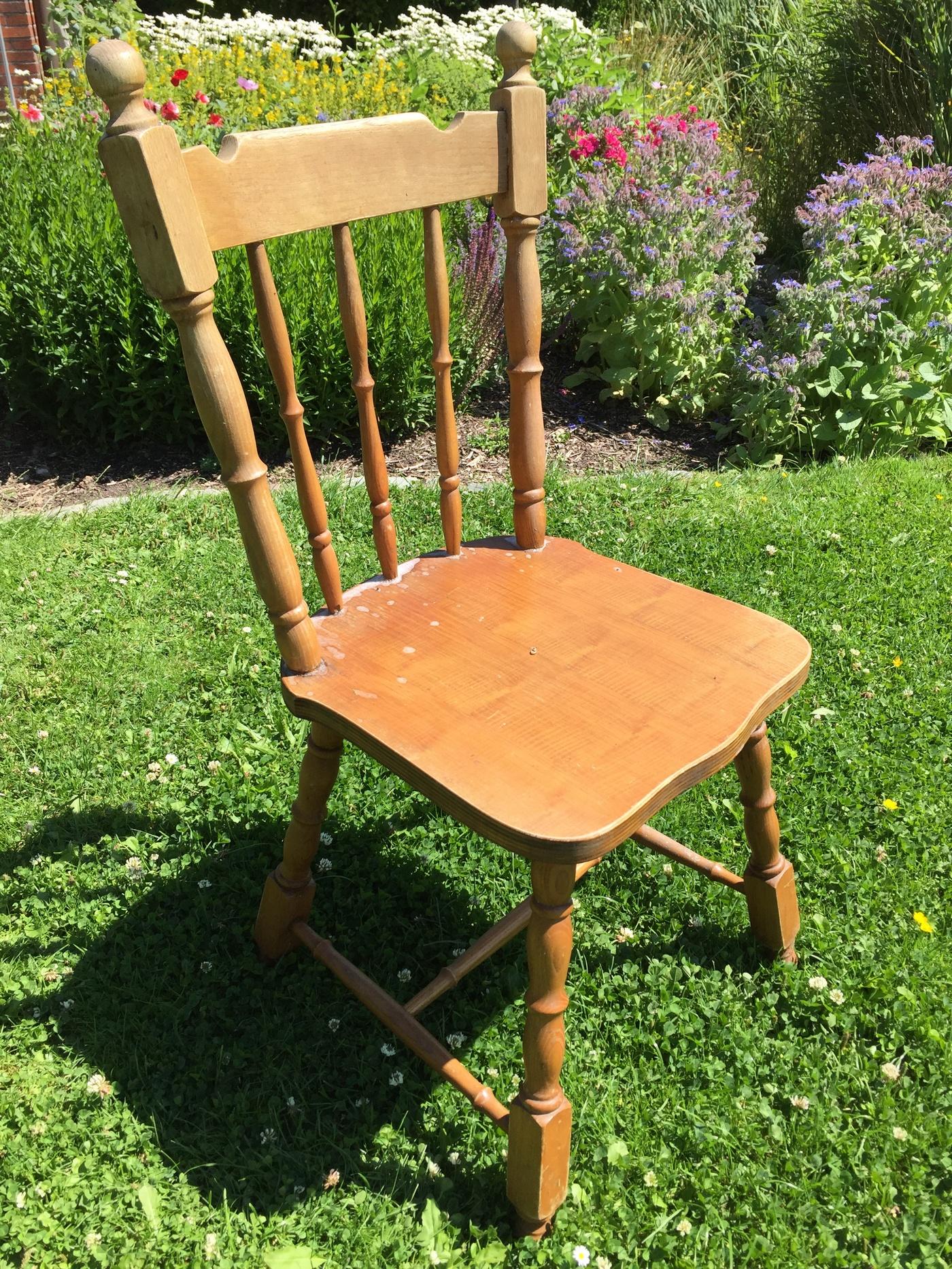 Stuhl vorher