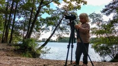Foto von Bela beim Fotografieren am Tonsee