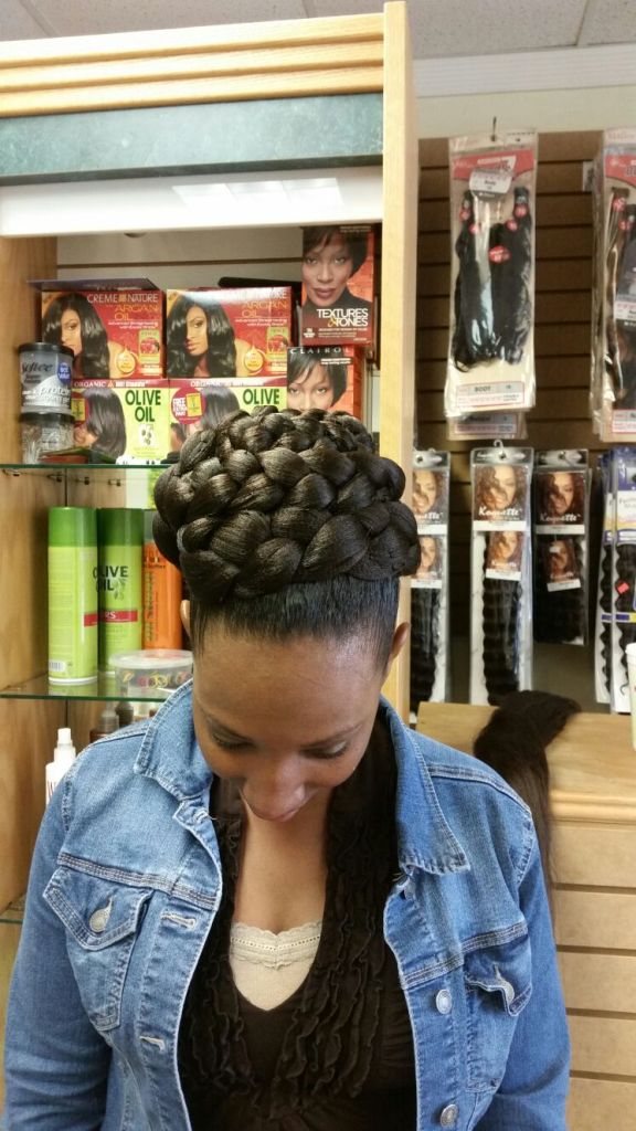 Ponytail from Diena Simply Natural (DSN Braiding)