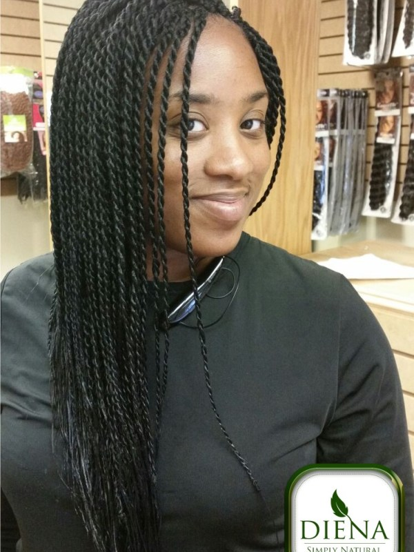 Senegalese Twist from Diena Simply Natural (DSN Braiding)