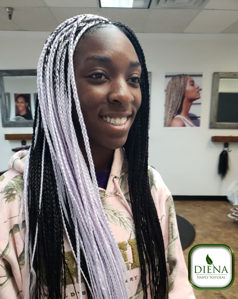 Multidimensional Box Braids