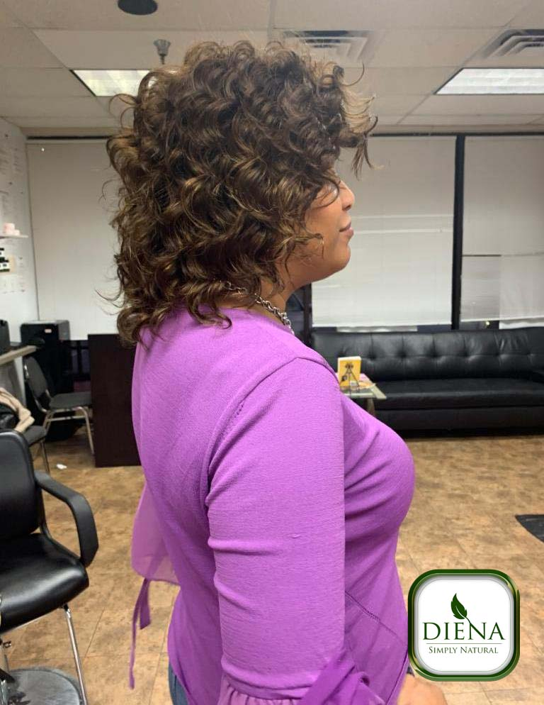 Sewing with Short Cut Soft Deep Remy Hair - DSN Braiding - Diena Simply Natural