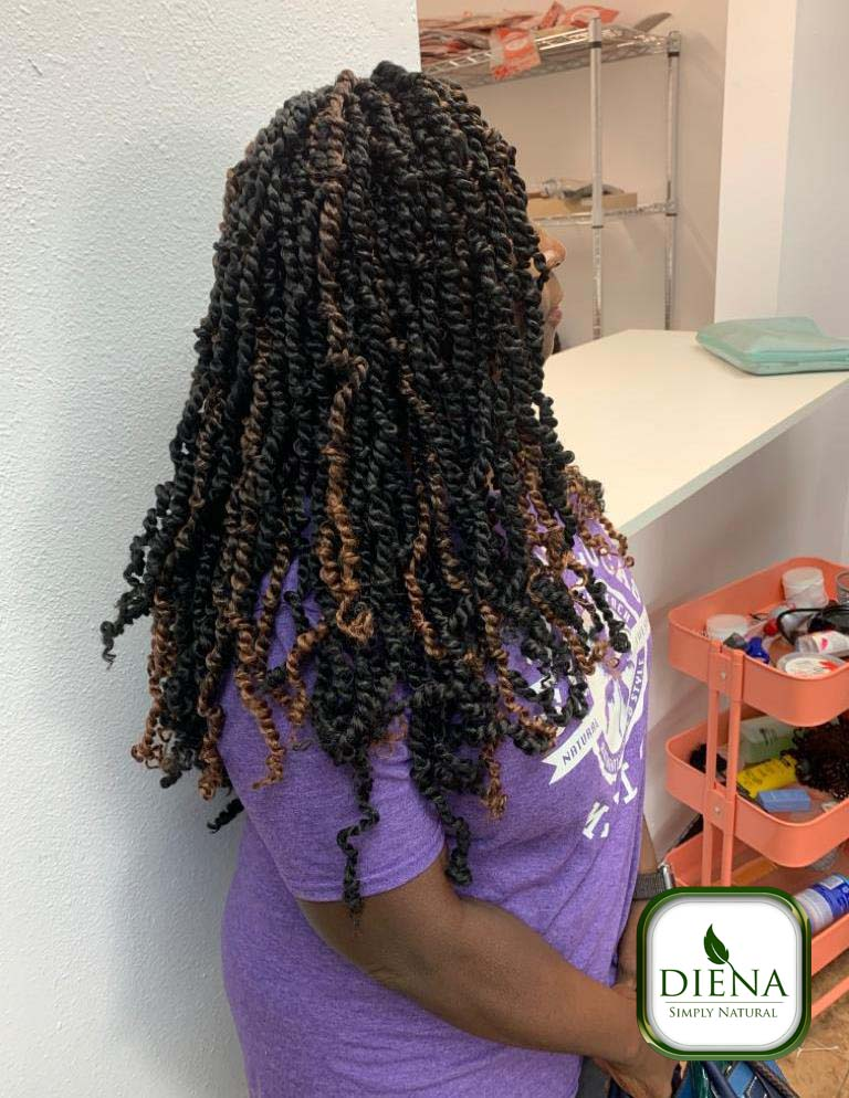 Spring Twist - DSN Braiding - Diena Simply Natural