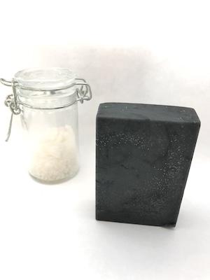 Sole Seife Salzseife reinigend und klärend passend fürs Gesicht