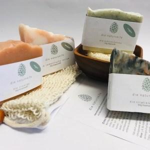 naturseife guenstig kaufen set haarseife oekologisch lippenbalsam nachhaltig zero waste