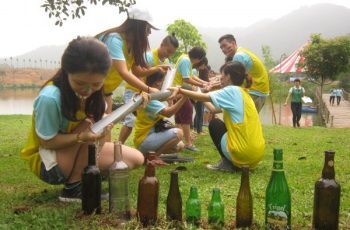 team building games - van tai dau