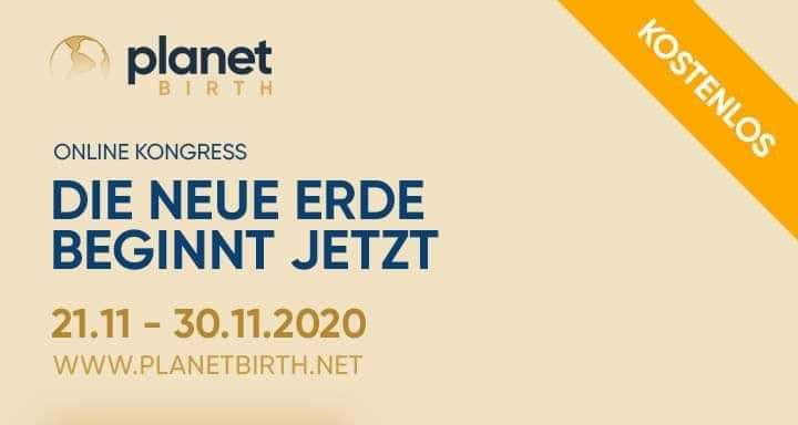 Planetbirth – Online-Kongress 21.-30.11.2020