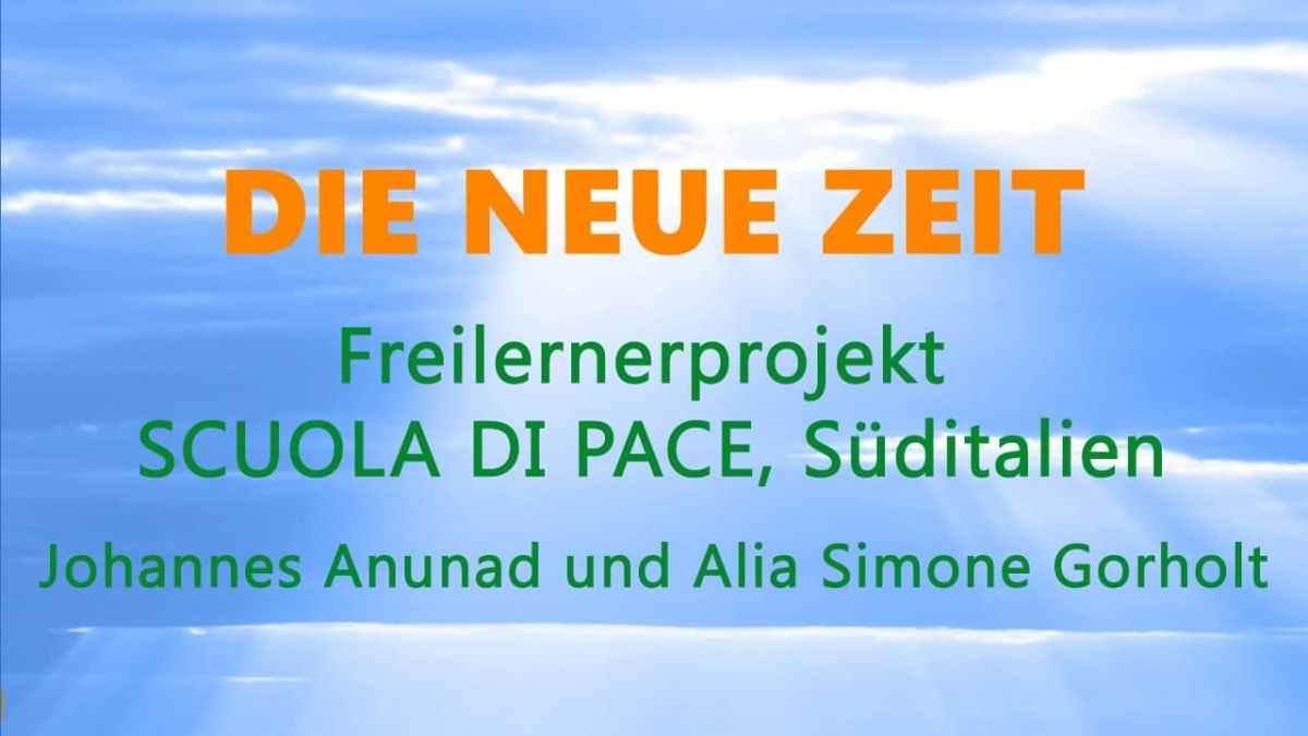 Freilerner-Projekt SCUOLA DI PACE, Süditalien