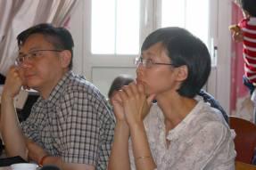 Hải Sơn & Diễm phụ trách phần âm thanh cho chương trình