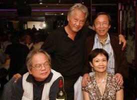 4 nhà văn Phan Huy Đường, Nam Dao, Kiệt Tấn & Mai Ninh