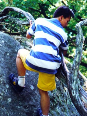 Leo núi Fontainebleau