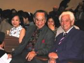 Nhạc sĩ Phạm Duy và nhạc sĩ Trần Văn Khê