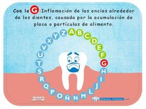 Rosco Dental: Con la G…inflamación de las encías alrededor de los dientes, causada por la acumulación de placa