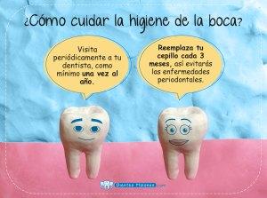 ¿Cómo cuidar la higiene de la boca?