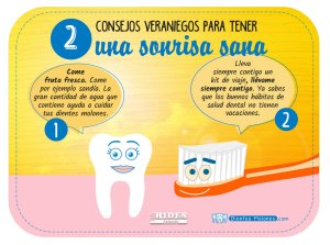 2 consejos veraniegos para tener una sonrisa sana