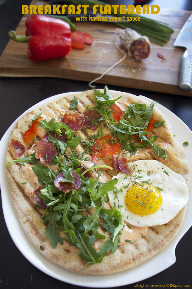 Breakfast flatbread_T