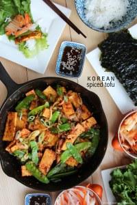 Korean spiced tofu FP