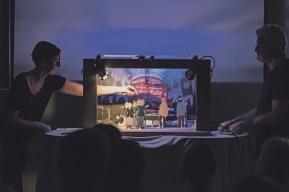 Die Sache mit den Räten und dem Papiertheater. Foto Daniel Jarosch