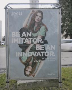 Be smart, be schizo. Foto Die Referentin