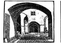 Eine Linolschnittarbeit von Agathe Löwe. Foto aus der Zeitschrift Ver!, Nr. 24/25, 1918