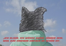 Das eigene Leben: Zeichnung WorkshopteilnehmerIn. Videostill KunstRaum Goethestrasse xtd in Zusammenarbeit mit dorftv