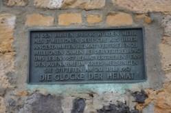 Gedenktafel am Heiligenberg