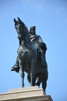 Reiterstatue des Giuseppe Garibaldi