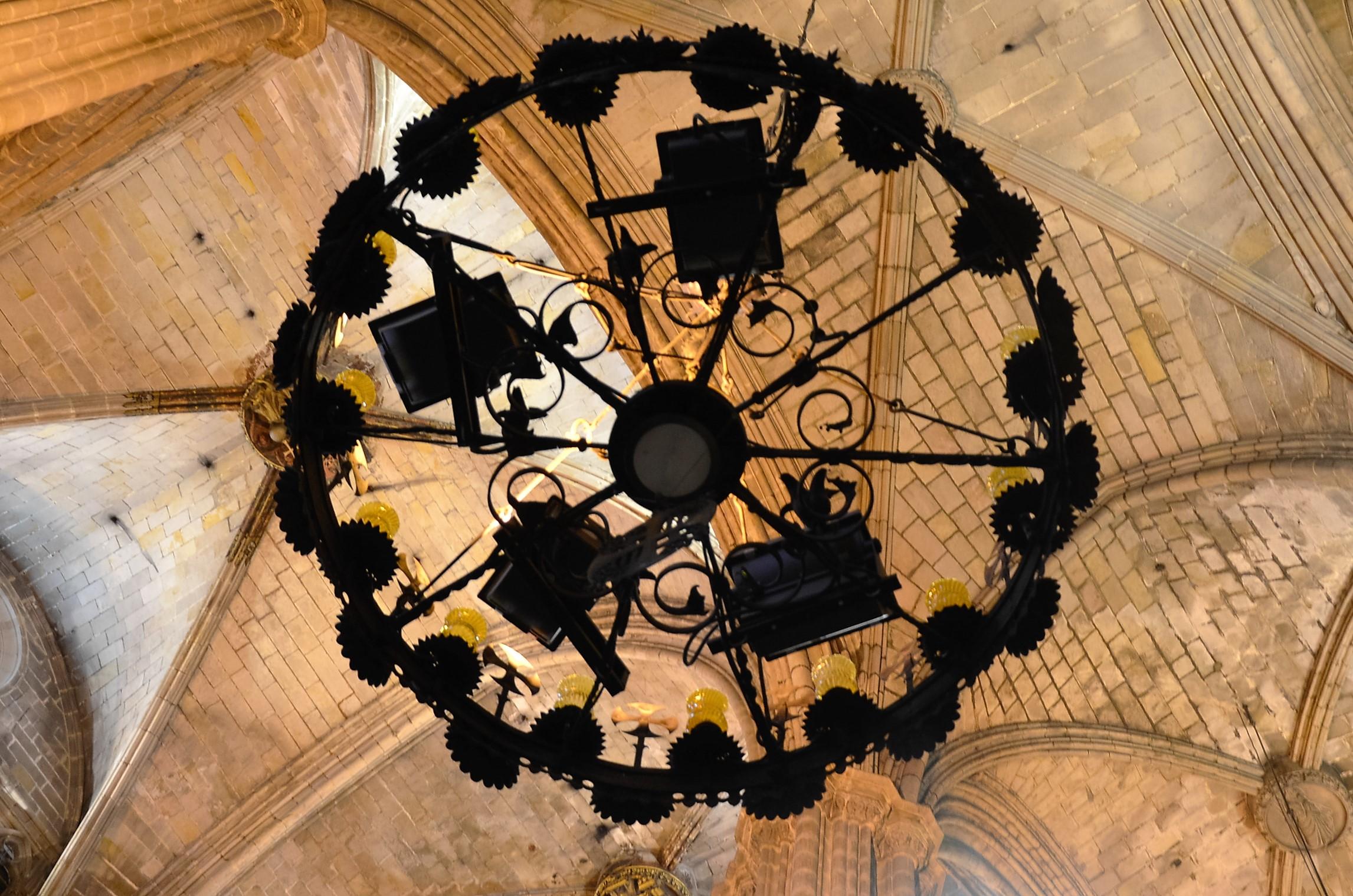 Lüster in der Kathedrale