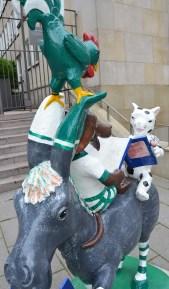 5 Bremer Stadtmusikanten Esel, Hund, Katze, Hahn und DieReiseEule