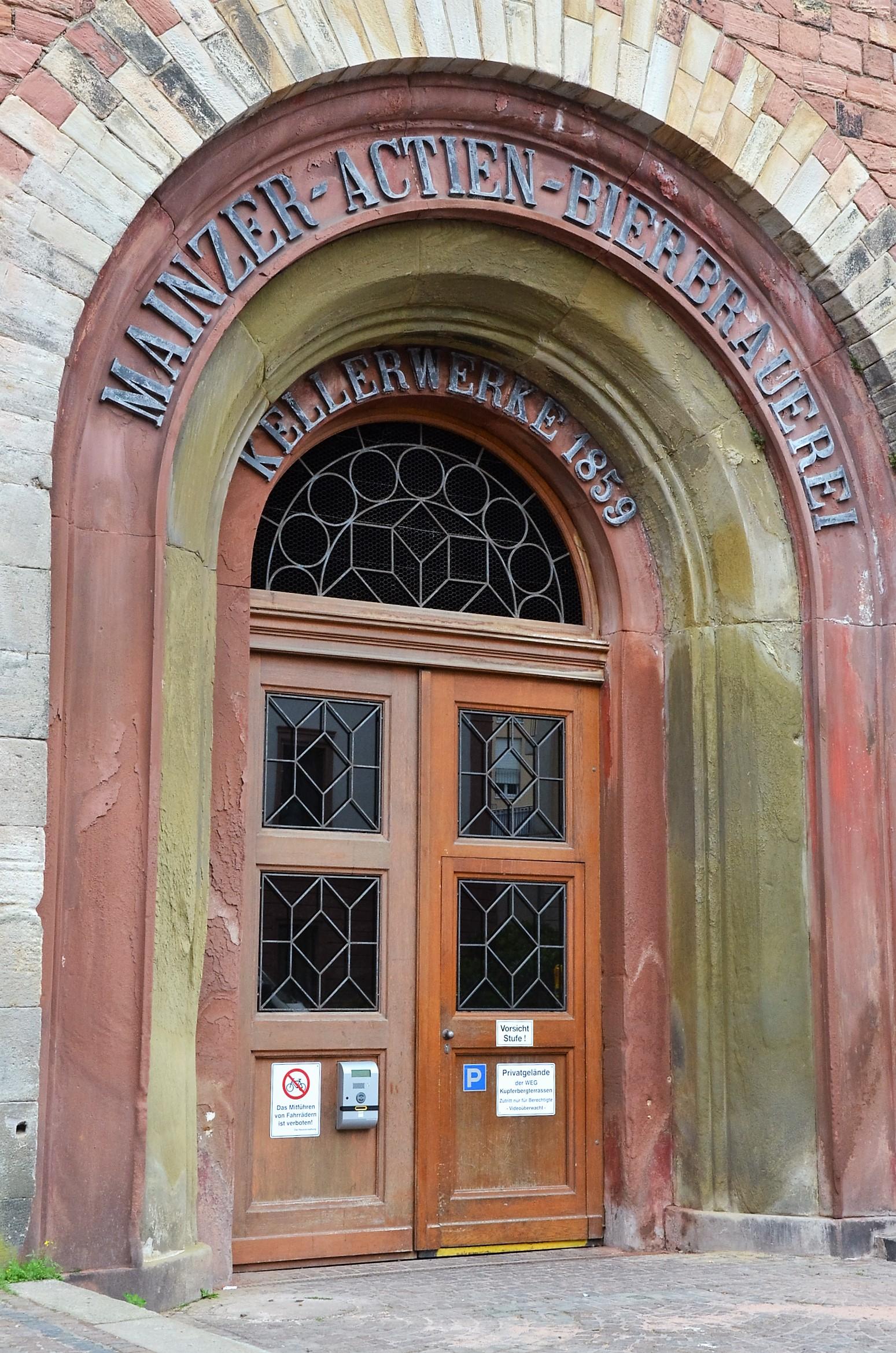 Eingang Kupferberg