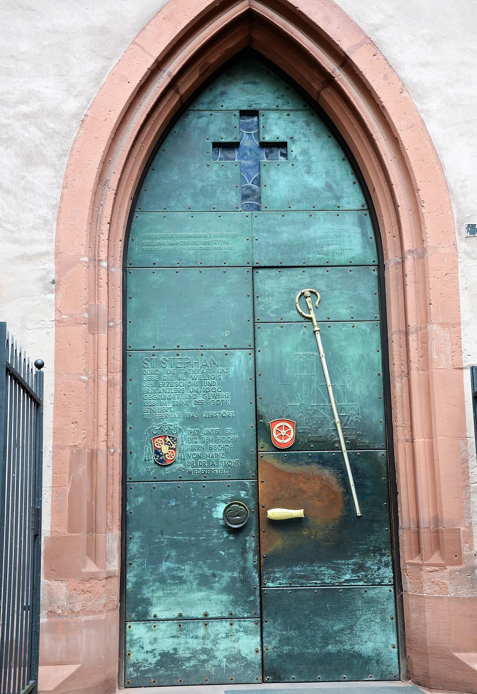 Eingang St. Stephan