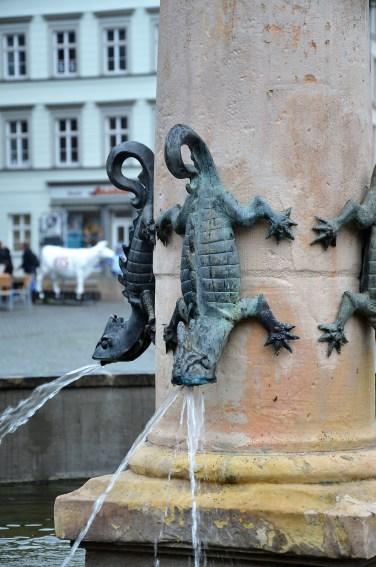 Brunnendetail