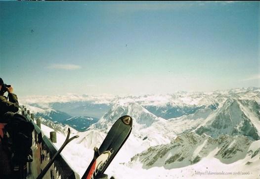 Panorama vom höchsten Berg Deutschlands