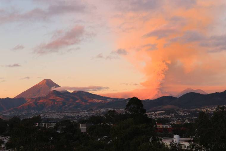 Blick auf Vulkane 16