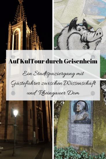 Auf KulTour durch Geisenheim
