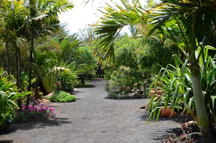 Botanischer Gartenweg