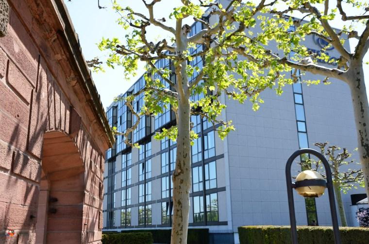 Mainz Hilton Hotel und Brückentor