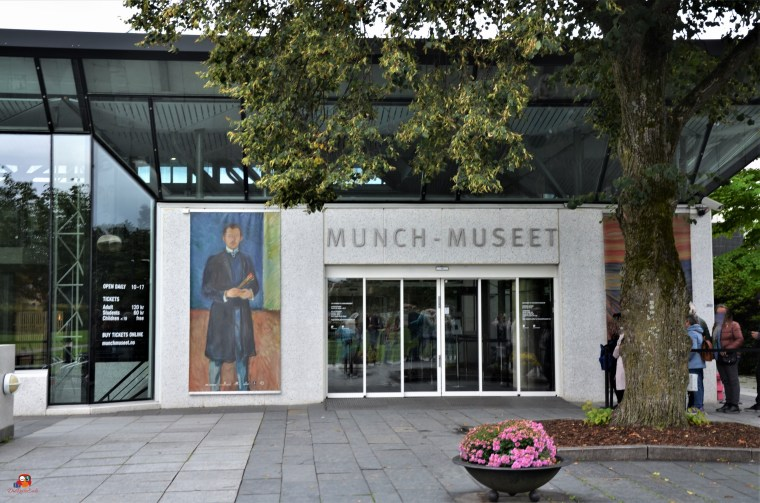 Fassade Munch Museum Oslo
