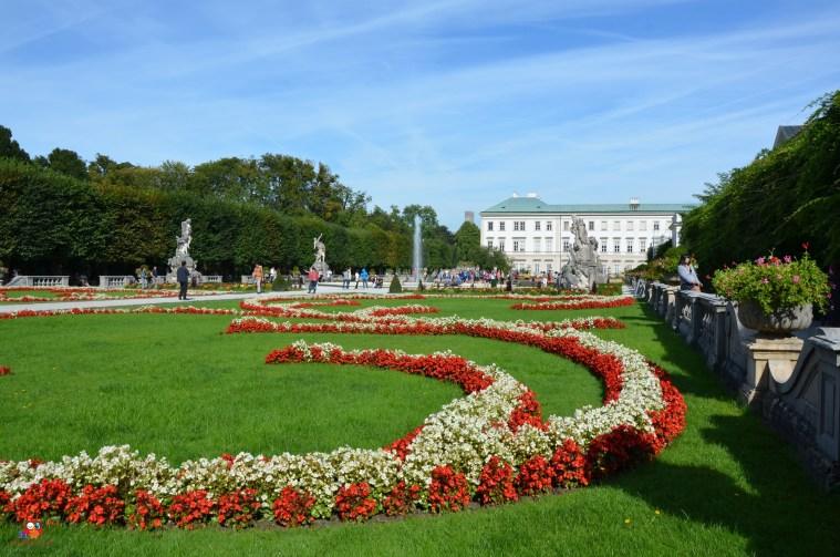 Schloss und Schlosspark Mirabell Salzburg