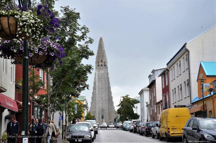 Reykjaviks berühmte Kirche Hallgrimskirkja