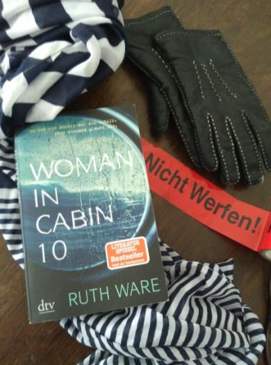 "Kreuzfahrtkrimi ""Woman in Cabin 10"" vpn Ruth Ware"