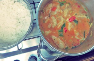 Segelrezept Thai Curry Kombüse