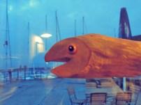 Fisch gibt es hier auch.