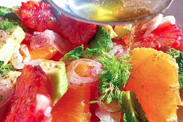 Segel-Rezept Wintersalat mit Orangen für die Kombüse