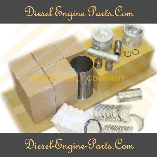 6PCS STD Piston Ring 105mm for ISUZU 6BG1
