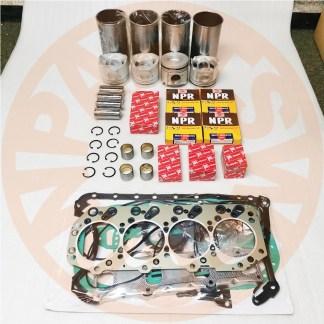 ENGINE REBUILD KIT ISUZU 4JG1T ENGINE TAKEUCHI TL140 CTL70 TRACK LOADER XG808 AFTERMARKET PARTS 1