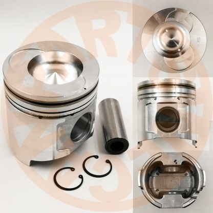 PISTON SET ENGINE REBUILD KIT YANMAR 4TNE94 ENGINE IHI HITACHI 55J EXCAVATOR AFTERMARKET PARTS
