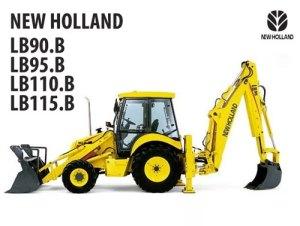 РУКОВОДСТВО С ИНСТРУКЦИЯМИ NEW HOLLAND LB90B LB95B LB110