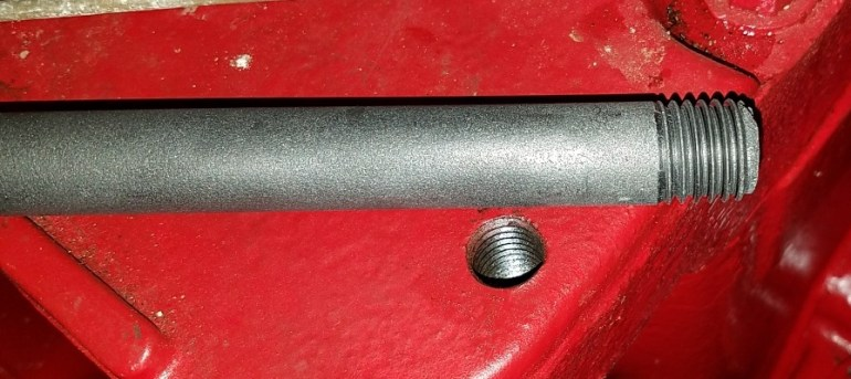 Threaded Carbon Stick
